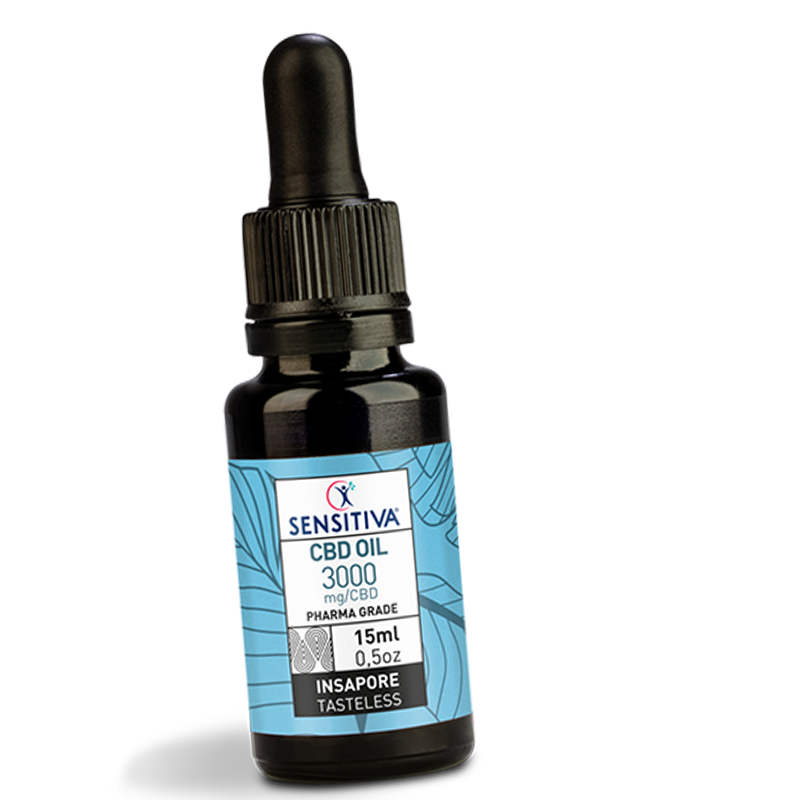 Olio CBD 3000 mg/CBD (20%) in 15ml