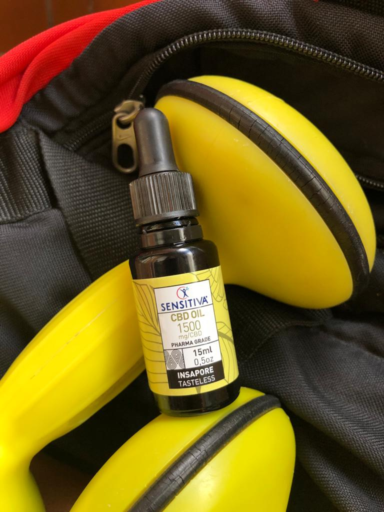 L'olio al CBD Sensitiva è utile per chi fa sport